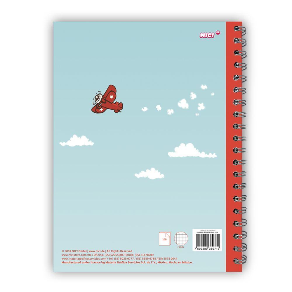 nici cuaderno profesional jolly mah 21 cuadro grande